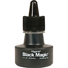 Sanford Higgins Black Magic Waterproof Drawing