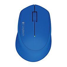 Logitech M320 Wireless Mouse Blue