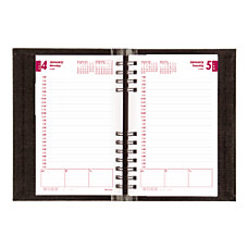 Brownline CoilPro FSC Certified Daily Planner