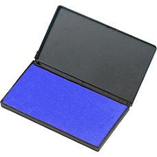 Charles Leonard Foam Stamp Pad Blue