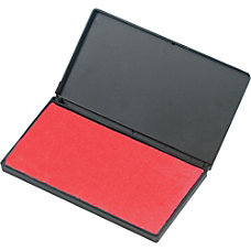 Charles Leonard Foam Stamp Pad Red