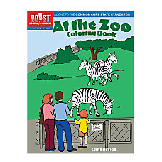 Dover Publications Boost Coloring Book At