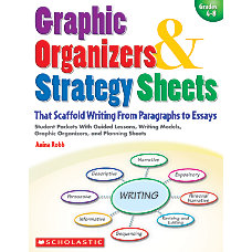 Scholastic Scaffold Writing Graphic Organizer