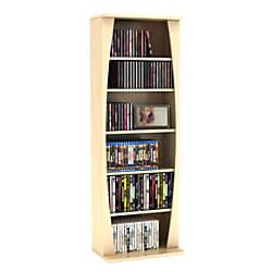 Atlantic Canoe Multimedia Storage Cabinet Maple