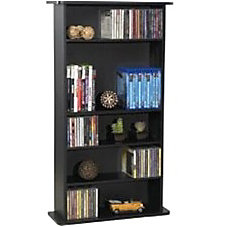 Atlantic Drawbridge 240 Media Cabinet Black