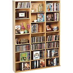 Atlantic Oskar 756 Media Cabinet Maple