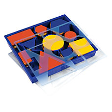 Learning Resources Attribute Blocks Desk Set