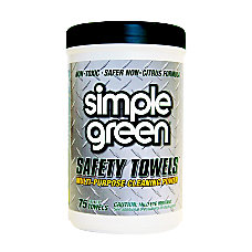 Simple Green Multipurpose Safety Towels Box