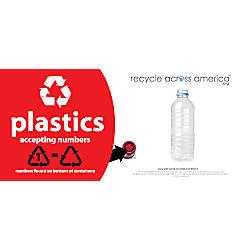 Recycle Across America Plastics With Number