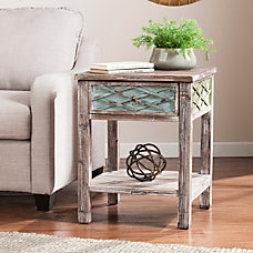 Southern Enterprises Dharma End Table Square