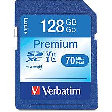 Verbatim 128GB Premium SDXC Memory Card