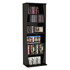 Atlantic Canoe Multimedia Storage Cabinet Espresso