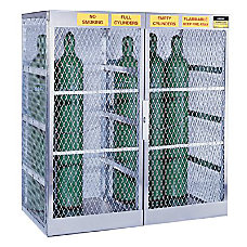 Justrite Cylinder Storage Locker 10 20