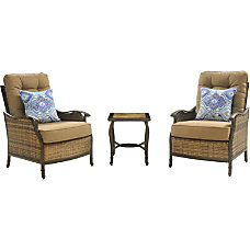 Hanover Square 3 Piece Seating Set