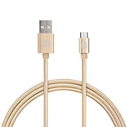 iHome Aluminum Micro USB Cable With