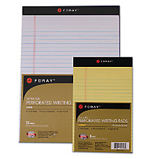 FORAY Legal Writing Pads 8 12