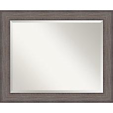 Amanti Art Country Barnwood Wall Mirror