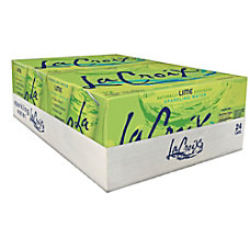 LaCroix Sparkling Water Lime 12 Oz