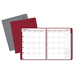 Office Depot Brand Monthly Planner With