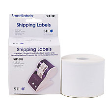 Seiko SmartLabel SLP SRL Shipping Label