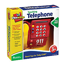 Learning Resources Pretend Play Teaching Telephone