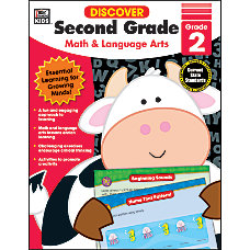 Thinking Kids Discover Workbook Second Grade