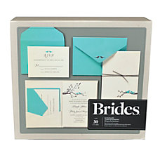 BRIDES Premium Invitation Kit 5 W