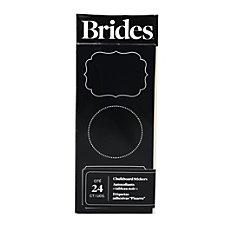 BBRIDES Chalkboard Stickers 3 x 9