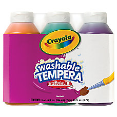 Crayola Artista II Tempera Paint Set