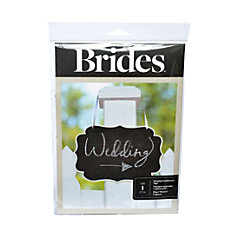 BRIDES Chalkboard Sign 11 38 x