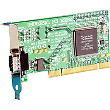 Brainboxes 1 port Universal PCI Serial