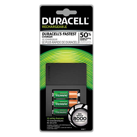 duracell ion speed 8000 battery charger for aa nimh. Black Bedroom Furniture Sets. Home Design Ideas