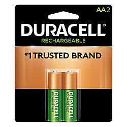 Duracell Rechargeable Staycharged AA Batteries Pack