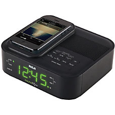 RCA Clock Radio Apple Dock Interface