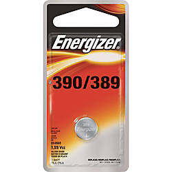 Energizer 390389 WatchElectronic Battery 389 Silver