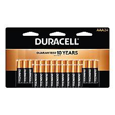 Duracell Coppertop Alkaline AAA Batteries Pack