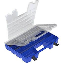 Akro Mils Portable Organizer ClearBlue