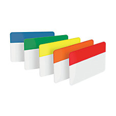 Post it Durable Tabs 2 Assorted