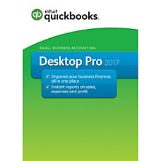 QuickBooks Desktop Pro 2017 Box Set