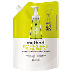 Method Foaming Hand Wash Refill Lemon