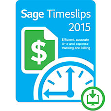 Sage Timeslips 2015 Time and Billing