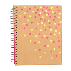 Gartner Studios Spiral Bound Notebook Pink