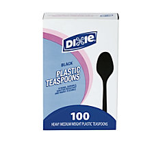 Dixie MediumHeavyweight Utensils Spoons Black Box