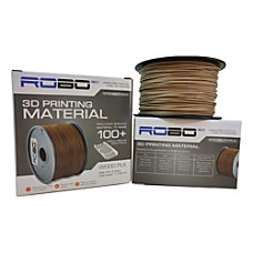 ROBO 3D Printer PLA Filament Wood