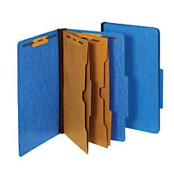 Pendaflex Classification Folders With Fasteners 25