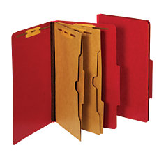 Pendaflex Classification Folders With Fasteners 25