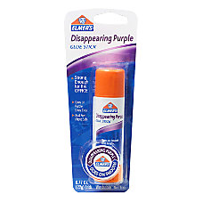 Elmers Disappearing Purple Office Glue Stick