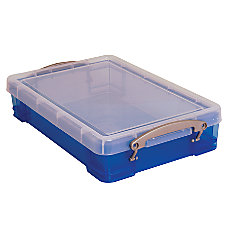 Really Useful Boxes Plastic Storage Box