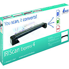 IRIS IRIScan Express 4 Sheetfed Scanner
