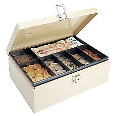 STEELMASTER Cash Box with Locking Latch